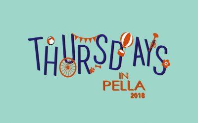 Thursdays In Pella 2019 Themes Announced